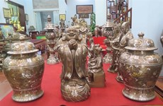 Pour la préservation du label des produits en bronze de Dai Bai