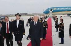 La visite officielle du secrétaire général du PCV Nguyên Phu Trong en France