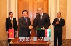 Vietnam-Hongrie: signature du mémorandum de coopération entre leurs Cours suprêmes
