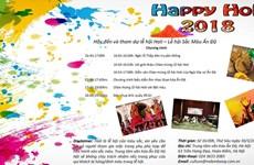 Rendez-vous à la fête des couleurs Holi 2018 à Hanoï