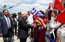 La visite d'État du secrétaire général du PCV Nguyen Phu Trong à Cuba