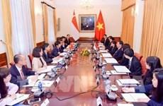 Réunion de consultation politique Vietnam - Singapour