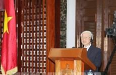 Nguyen Phu Trong souligne l'exemple spécial et unique de l'amitié Vietnam-Cuba