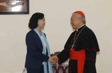 Pâques: félicitations aux catholiques de Hanoi