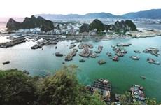 À l'est de la baie de Ha Long