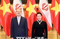 Entretien entre Nguyên Thi Kim Ngân et Ali Ardeshir Larijani