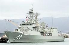 Trois navires de la Royal Australian Navy à Hô Chi Minh-Ville