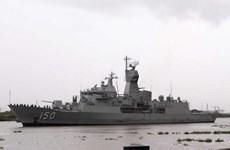 Trois navires de la Marine royale australienne en visite à Hô Chi Minh-Ville