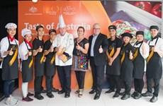 """""""Taste of Australia 2018"""", un concours de cuisine pour les étudiants vietnamiens"""