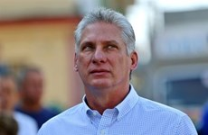 Félicitations au nouveau président du Conseil d'Etat et du Conseil des ministres de Cuba