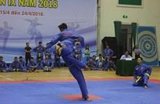 Ouverture le IXe championnat du Vietnam de Vovinam