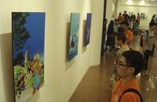 Exposition du dessinateur belge de bandes dessinées Dany à Hanoï