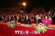 Grande cérémonie marquant les 1.050 ans du premier État féodal du Vietnam