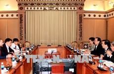 Ho Chi Minh-Ville renforce la coopération économique avec l'Ukraine