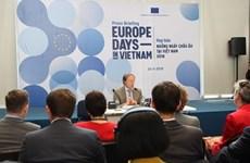 """Le """"Village européen"""" promeut la culture de l'UE à Hanoï"""