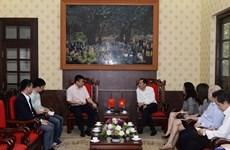 Le Vietnam et la Chine intensifient la coopération dans la presse