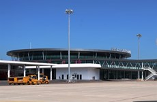 Binh Dinh : L'aéroport Phù Cat inaugure une nouvelle gare