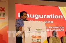 Le Vietnam au Salon international de l'industrie pharmaceutique et de la santé en Inde