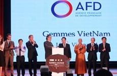 Changements climatiques: Déclaration commune Vietnam - France sur le programme GEMMES