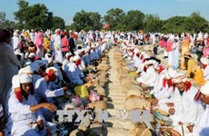 Les Cham de Binh Thuan célèbrent le Têt Ramuwan 2018