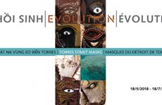 Des masques du Détroit de Torrès exposés au Vietnam pour la première fois