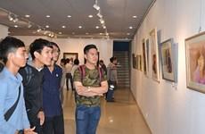 Exposition internationale d'aquarelle à Hô Chi Minh-Ville