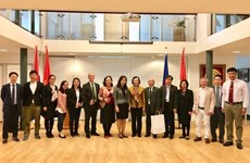 Une délégation du Parti communiste du Vietnam visite les Pays-Bas