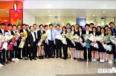 Le Vietnam décroche un troisième prix et un prix d'encouragement au concours Intel ISEF 2018