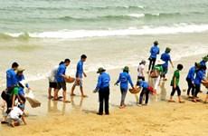 Meeting en l'honneur de la Journée mondiale de l'océan à Da Nang