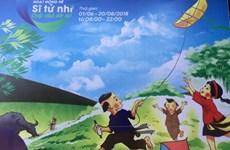 Des ateliers créatifs pour les enfants au Temple de la Littérature