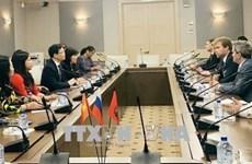 Une délégation de la province de Tuyen Quang en visite en Russie
