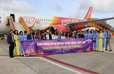 Lancement de la ligne aérienne directe Can Tho-Bangkok