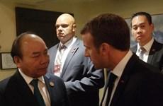 Sommet du G7 élargi: le PM vietnamien rencontre des dirigeants du monde