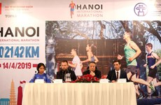 Le premier marathon international de Hanoi aura lieu en avril 2019