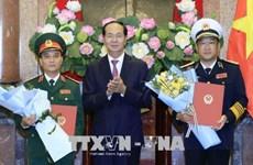 Le président de la République nomme un nouveau général de corps d'armée