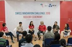 Lancement du concours Swiss Innovation Challenge 2018