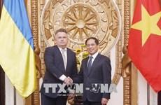 Vietnam-Ukraine : consultation politique au niveau vice-ministériel