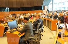Séminaire sur l'accélération de la signature de l'EVFTA à Bruxelles