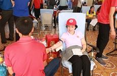 Itinéraire rouge 2018 : près de 1.500 unités de sang collectées à HCM-Ville