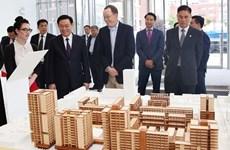 Poursuite des activités du vice PM Vuong Dinh Hue aux Etats-Unis