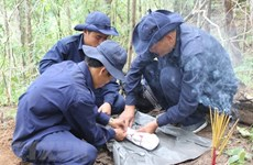 An Giang trouve des restes de 116 soldats tombés au champ d'honneur