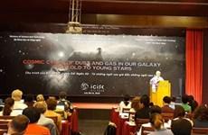 Colloque sur l'évolution du gaz et de la poussière dans la galaxie