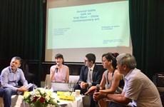 Des arts contemporains au menu des discussions des artistes vietnamiens et chiliens