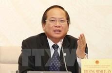 Le ministre de l'Information et de la Communication Truong Minh Tuân suspendu de ses fonctions