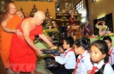 Ouverture d'une classe d'enseignement du vietnamien et du laotien à Vientiane