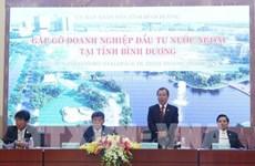 Dialogue avec des entreprises à participation étrangère à Binh Duong