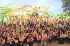 Ouverture de la colonie de vacances d'été pour enfants Vietnam-Laos-Cambodge 2018
