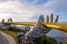 The Guardian fait l'éloge du Golden Bridge de Bà Nà Hills