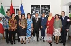 Célébration des 23 ans d'adhésion du Vietnam à l'ASEAN au Mexique