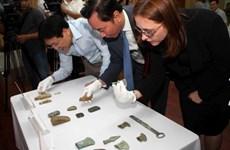 Dix-huit antiquités vietnamiennes conservées en Allemagne rapatriées